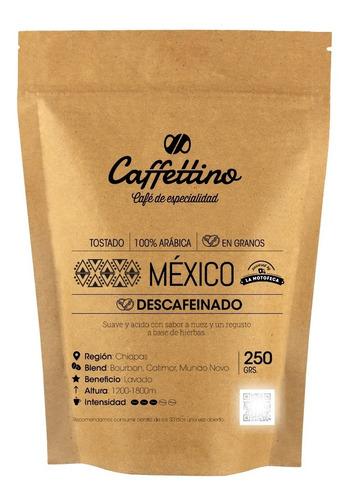 Imagen 1 de 8 de ¼ Café De Especialidad México Descaf. En Granos
