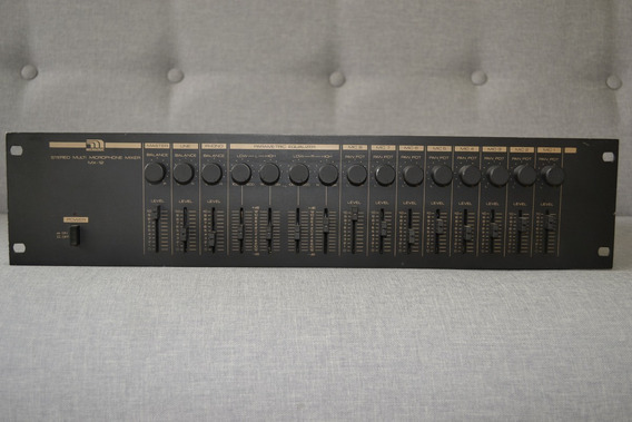Receiver Micrologic Stereo Multi Microphone Mixer Mx-12