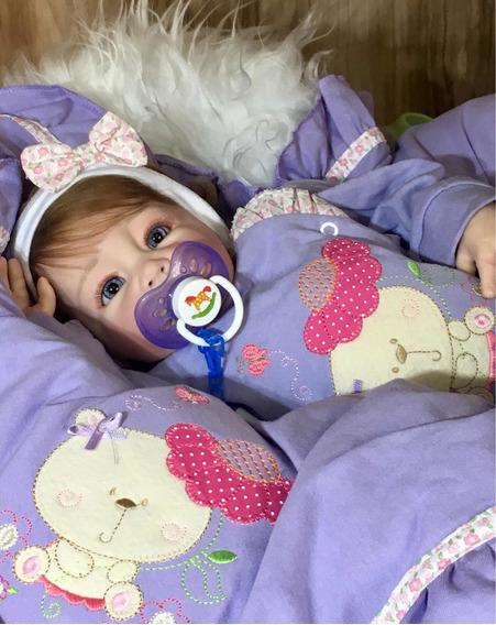Bebê Reborn Luma (corpo Tronco Tecido)