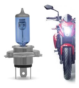 Lâmpada Moto Super Branca H4 Honda Titan Fan Start 125 150