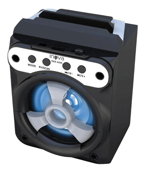 Caixa De Som Portátil Alto Falante Bluetooth Rad-8209