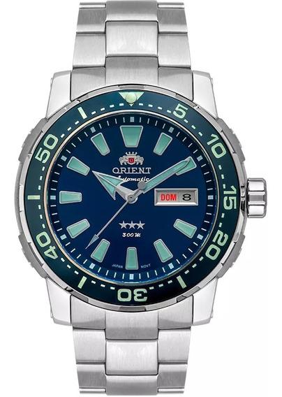 Relógio Orient Automatic F49tt001 D1gx Titânio 300m Pulseira