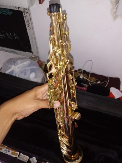 Saxo Soprano Stagg Usado