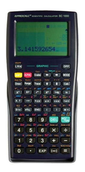 Calculadora Científica Gráfica Procalc Sc1000