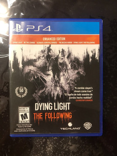 Dying Light The Following Enhanced Edition Ps4 Disco Nuevo