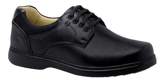 Sapato Masculino 416 Especial Neuroma De Morton Em Couro Flo