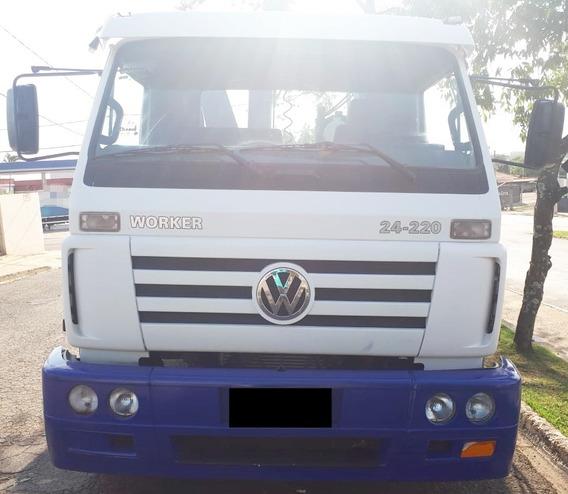 Vw 24-220 Worker - 11/12 -truck, Munck Hincol 31, Carroceria