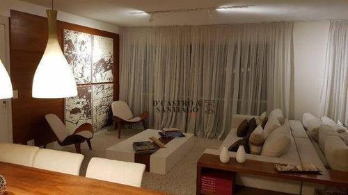 Imagem 1 de 20 de Apartamento Com 3 Dormitórios À Venda, 172 M² Por R$ 1.780.000 - Mooca - São Paulo/sp - Ap0413