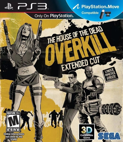 Jogo The House Of The Dead Overkill Extended Cut Ps3