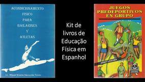 Kit De Livros De Educação Física Em Espanhol