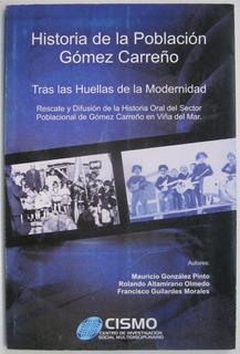 Poblacion Gomez Carreño De Viña Del Mar Historia