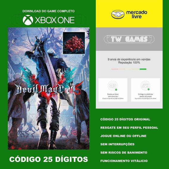 Devil May Cry 5 Codigo 25 Digitos Xbox One Fat S X