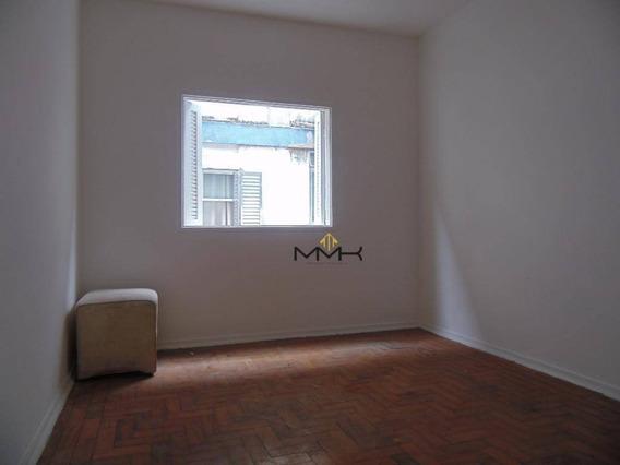 Apartamento 1 Dormitório Para Locação No Bnh No Bairro Aparecida/santos-sp - Ap1054