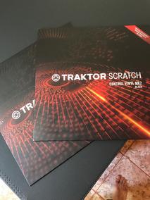 Traktor Scratch Time Code Vinyl Mk2 Black Par