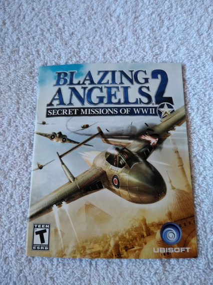 Manual Do Game Blazing Angels 2 Ps3 *** Leia