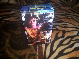 Pack De 2 Juegos De Naipes Freddy Y Jason Estilo Cromy