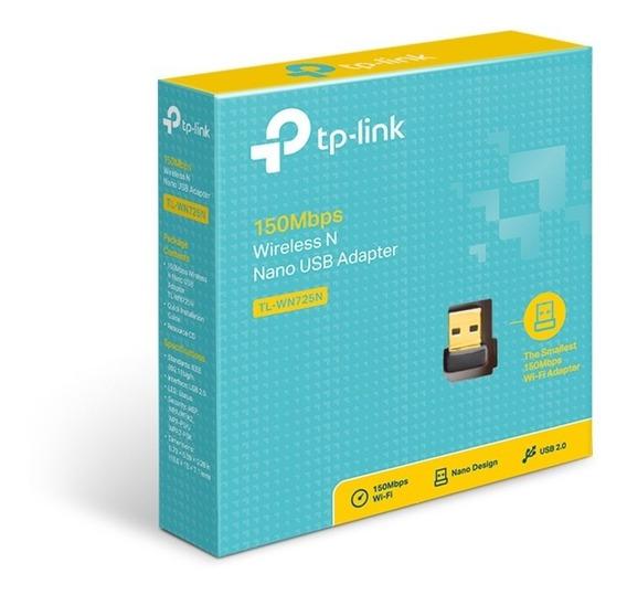 Adaptador Wireless Usb Tp-link Wn-725n 150mbps Nano Mini