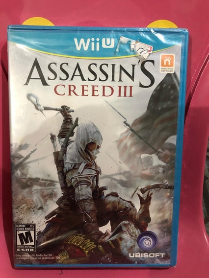 Assassins Creed 3 Original Lacrado Wiu