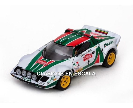 Lancia Stratos Hf 1976 Sanremo Munari - Rally Sun Star 1/18