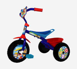 Triciclo Mid Infantil Paw Patrol Pedal Canasto - Racer