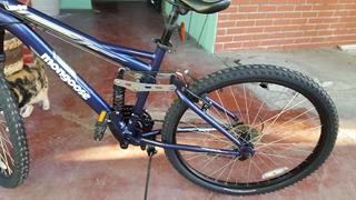 Mongoose Bicicleta 2.1 Ledge 21 Cambios Con Amortiguadores