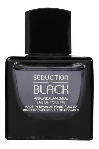 Perfume Hombre A. Banderas Seduction In Black - 100ml