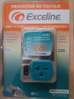 Protector De Voltaje Aires Acondicionados 220v (enchufable)