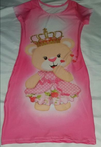 Vestido Chã De Bebê