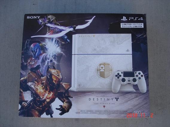 Play Station 4 Edicion Limitada Destiny