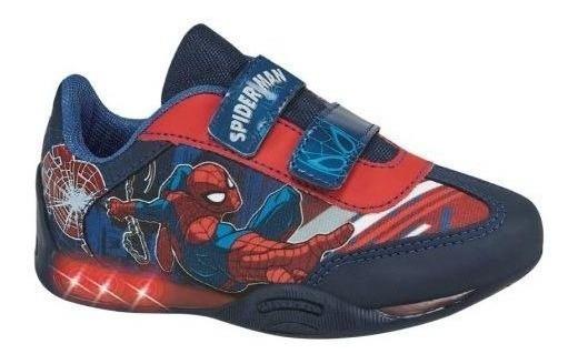 Tenis Casual Spiderman Niño Hc3364