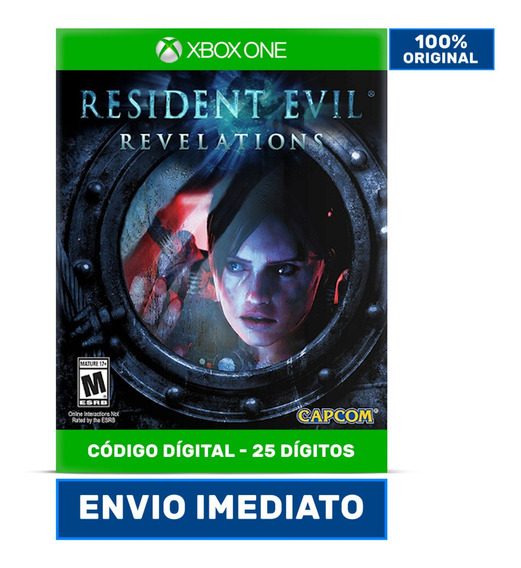 Resident Evil Revelations - Xbox One 25 Dígitos