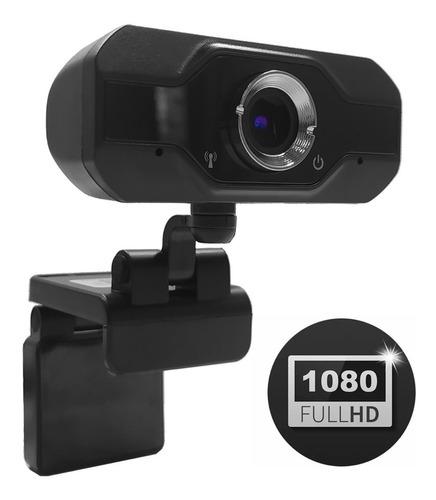 Webcam Cámara Web Full Hd 1080p Con Micrófono Streaming Zoom