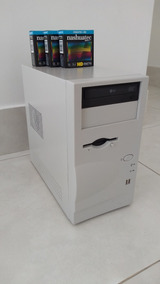 Pc Computador Desktop Amd 2gb Ram, 80gb Hd, Nvidia 128mb