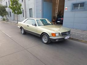1984 Mercedes Benz 380 Sec Coupe Full Cuero