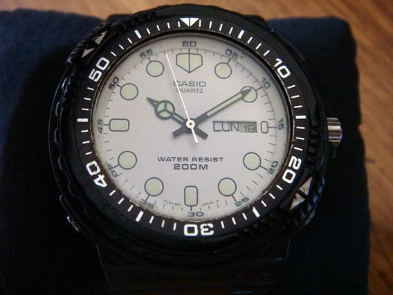 Reloj Casio Vintage Mrw-201 Divers. Made In Japan.
