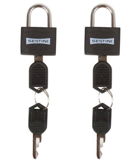 Cadeado Para Malas Com Chaves Sestini - 9540
