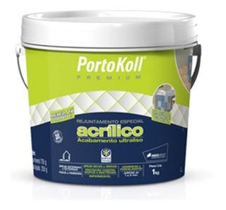 Rejunte Acrílico Branco 1 Kg - Portokoll