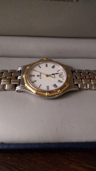 Reloj Cyma Bisel De Oro (omega)