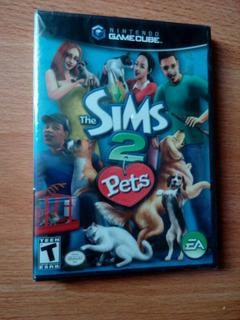 Nintengo Gamecube Juego The Sims 2 Pet Nuevo Sellado Ea