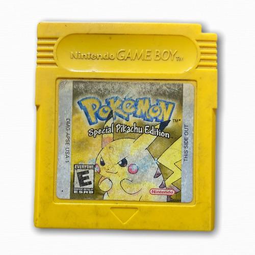Pokémon Yellow Pikachu Gameboy Miltienda