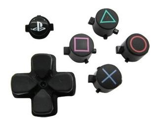 Set De Botones Control Play Station Ps4 Refacción Original