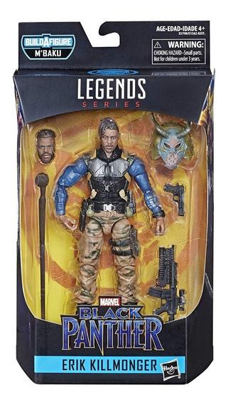 Marvel Legends Series Black Panther Erik Killmonger Original