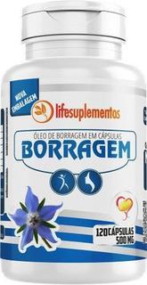 Oleo De Borragem 120capsulas 500mg Melcoprol Omega 6