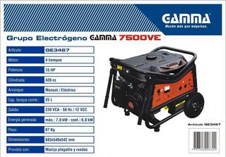 Grupo Electrogeno 7500