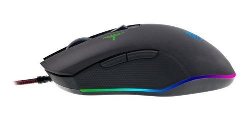 Mouse Gamer Xtech Iluminado 6botones 3200 Dpi Cable Mallado