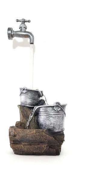 Fuente De Agua Canilla Zen Con Luz Mágica
