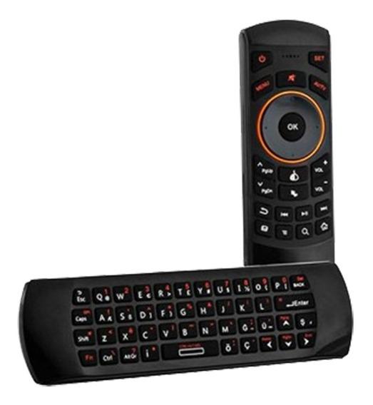 Mini Teclado Inalambrico + Air Mouse Smart Tv, Pc, Consolas