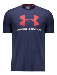 Camiseta Under Armour Sportstyle-marinho
