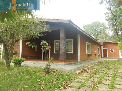 Imagem 1 de 15 de Chácara Casa Térrea Em Bairro Bem Localizado. - Rt1076