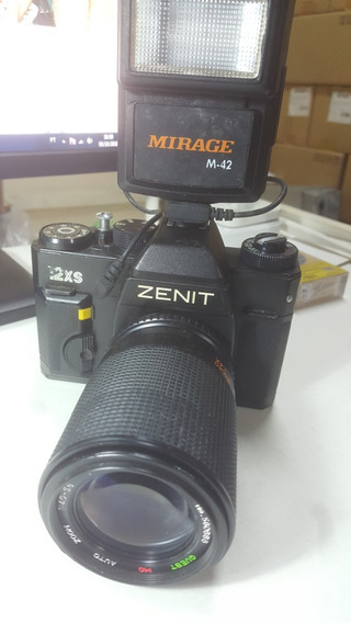 Maquina Fotografica Antiga Zenit 12xs